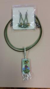 Earrings&Necklace - Artist Linda Adams