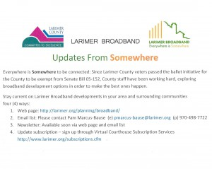 Larimer County Broadband