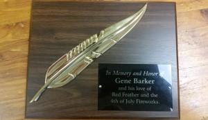 Gene's Plaque